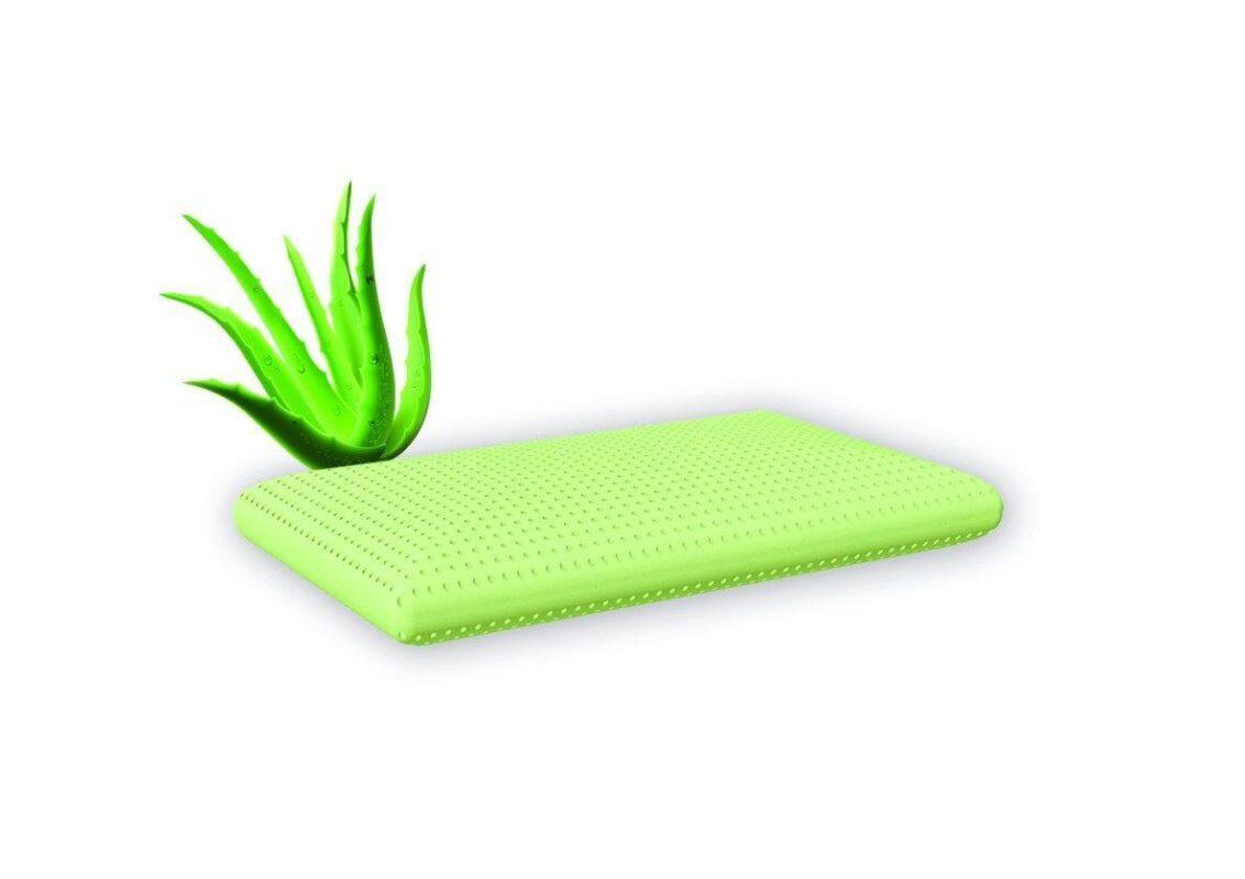 Schlaf-Duftkissen Grün Aloe Vera