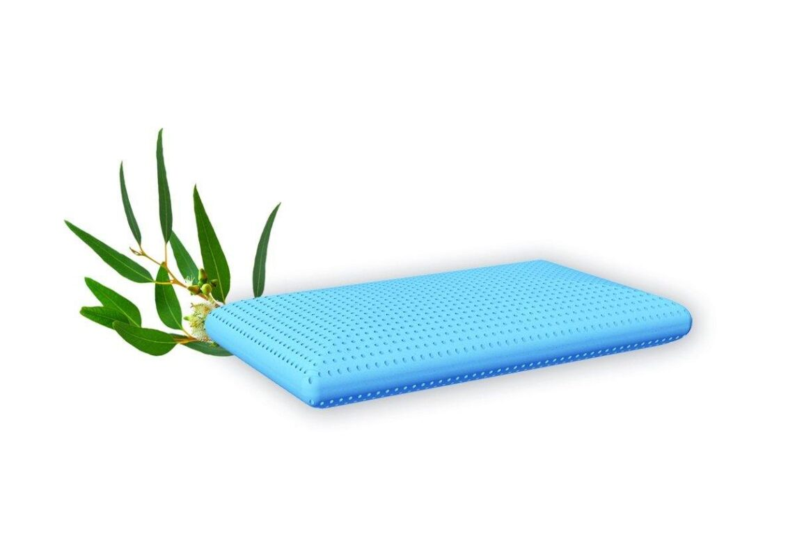 Schlaf-Duftkissen Blau Eukalyptus